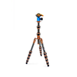 3 Legged Thing Leo Tripod - Grey/Blue - LEOSWITCHKIT