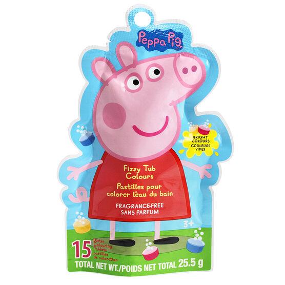 Peppa Pig Fizzy Tub Colours - 25.5g