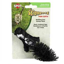 Skinneeez Catnip Filled Cat Toy - Forest Animal -  Assorted