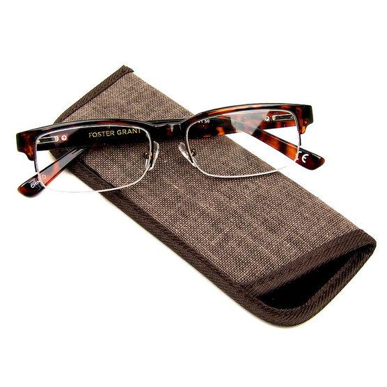Foster Grant Bentley Reading Glasses - Tortoiseshell - 2.50