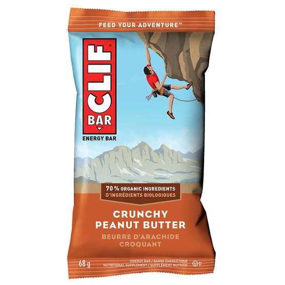 Clif Bar - Crunchy Peanut Butter - 68g