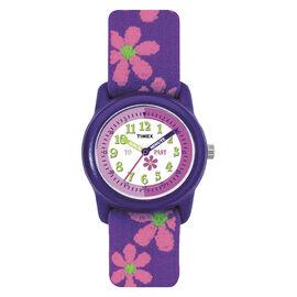 Timex Youth Girls Analogue Watch - Purple - T89022XY