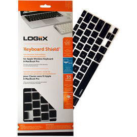 Logiix Keyboard Shield for MacBook Pro and iMac - Black - LGX-10903