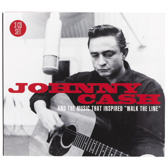 Johnny Cash - Johnny Cash And The Music That Inspired Walk The Line - 3 CD