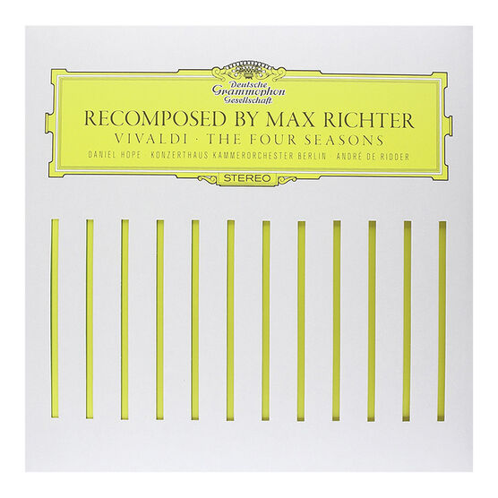 Max Richter - Vivialdi: The Four Seasons - Recomposed by Max Richter - Vinyl