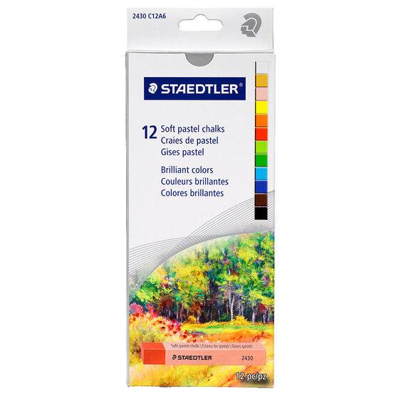 Staedtler Soft Pastel Chalks - 12 piece