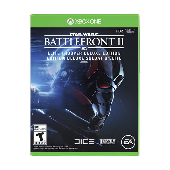 Xbox One Star Wars Battlefront 2 Deluxe