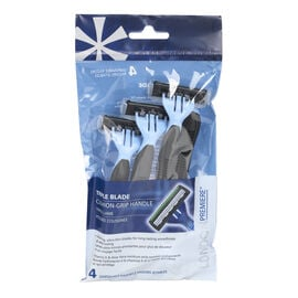 London Premiere Triple Blade Disposable Razor - Men's - 4's