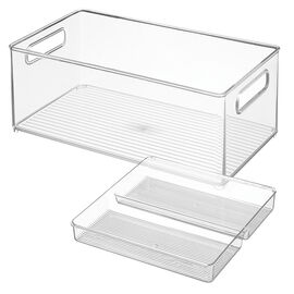 InterDesign Storage - 8 x 14 x 6in - 2 piece