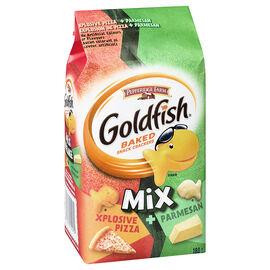 Pepperidge Farm Goldfish Mix Crackers - Cheesy Pizza & Parmesan - 180g