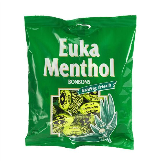 Euka Menthol Candies - Eukalyptus -150g