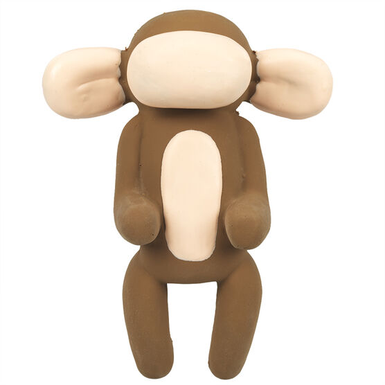 Balloon Monkey Latex Dog Toy