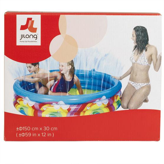 Funzone Rainbow Spray Pool - 150 x 30cm