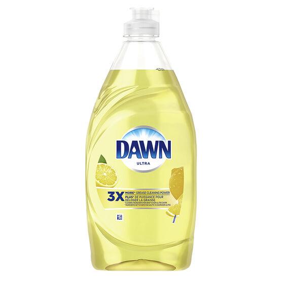 Dawn Ultra Dishwashing Liquid - Lemon - 532ml