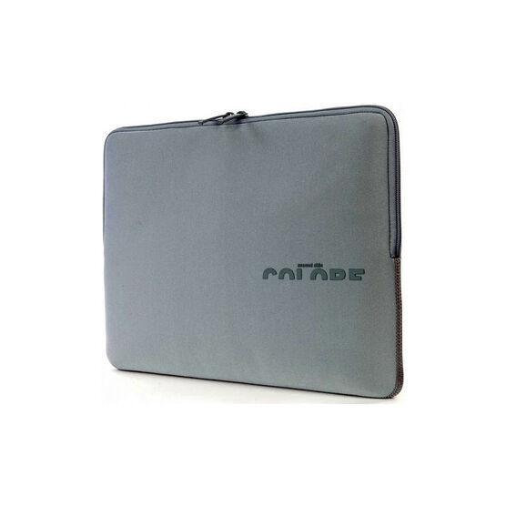 Tucano Colore Second Skin Neopren Ultrabook Sleeve - 15 Inch - Silver - BFCK15-SL