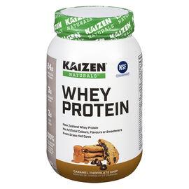 Kaizen Naturals Whey Protein - Caramel Chocolate Chip - 840g