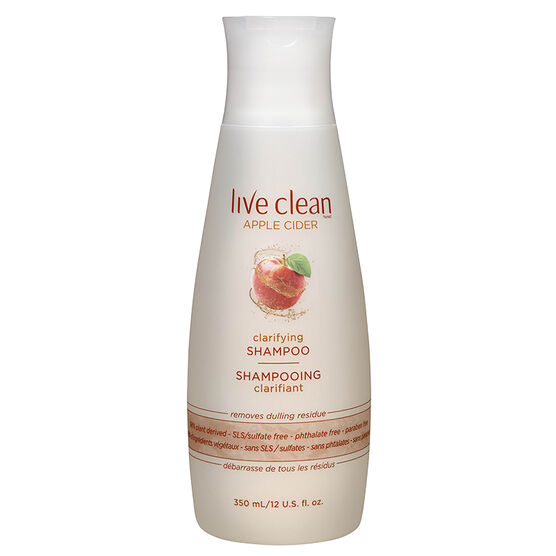 Live Clean Apple Cider Ultra Light Shampoo - 350ml