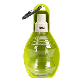 Totally Pooched Travel Water Bottle and Bowl - Green - TP050G