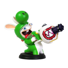 Mario + Rabbids Kingdom Battle: Rabbid Yoshi Figurine - 6 Inch