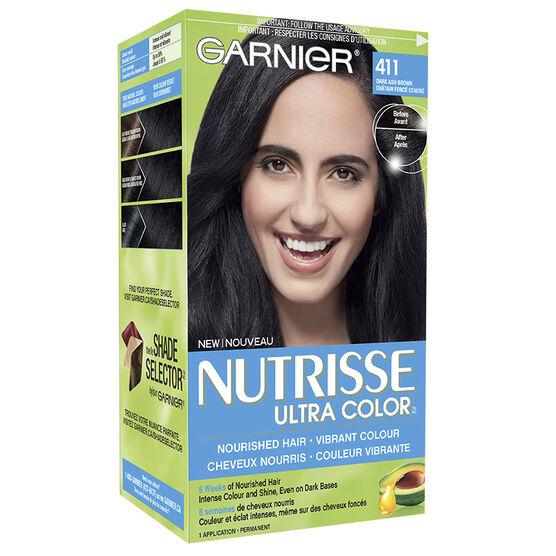 Dark Ash Brown Hair Color Garnier
