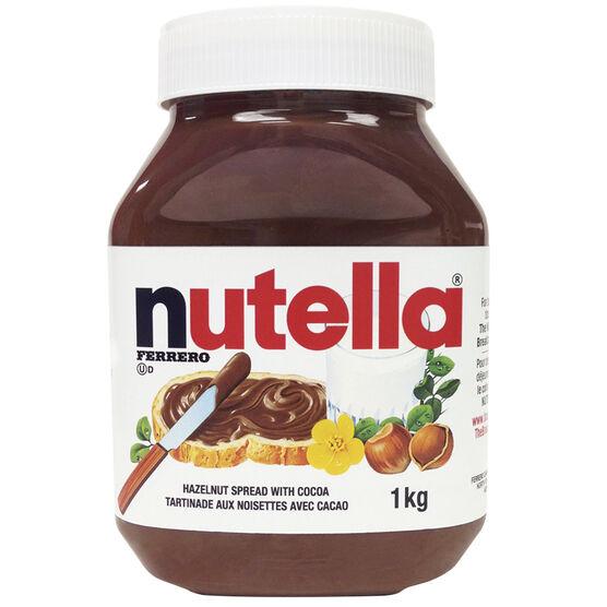 Nutella Spread - Hazelnut - 1kg
