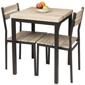 London Drugs Breakfast Table Set - Brown