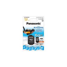 Panasonic 64GB Micro SDXC Card - RPSMGB64GAK