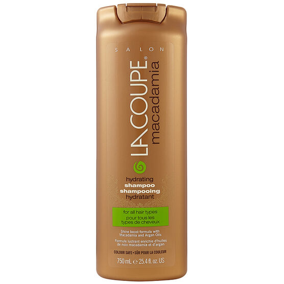 LaCoupe Macadamia Shampoo - Hydrating - 750ml
