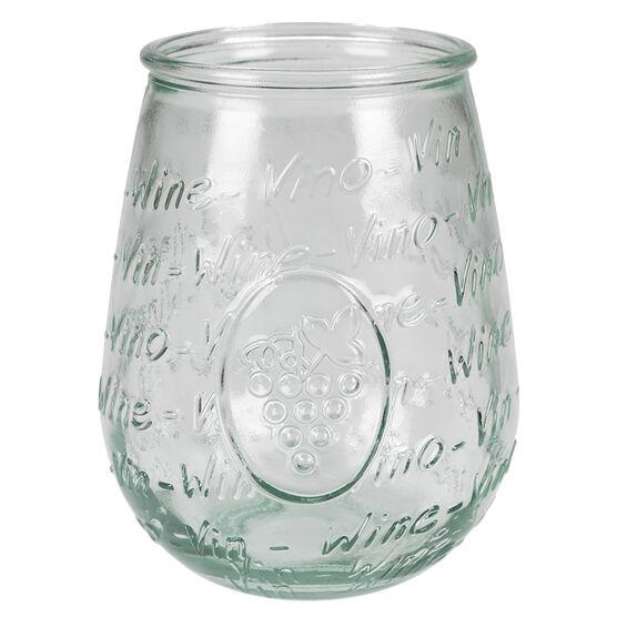 London Drugs Green Glass Wine Glass - 650ml