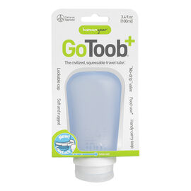 Go Toob+ Squeezable Travel Tube - Blue - 100ml