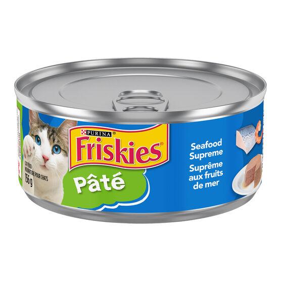 Friskies Wet Cat Food - Pate Seafood Supreme - 156g