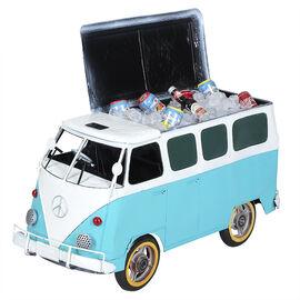 Hand Craft Cooler with Plastic Wheels - Van - Blue