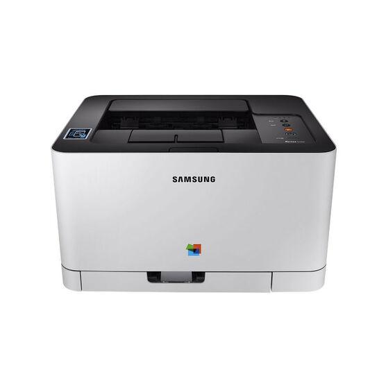 Samsung C430W Colour Laser Printer - White - SL-C430W/XAA