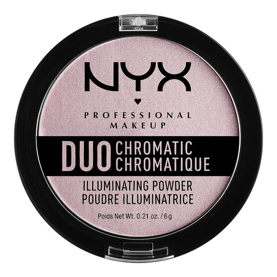 NYX Professional Makeup Duo Chromatic Powder - Lavender Steel