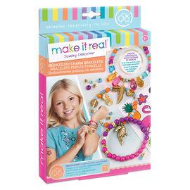 Make it Real Beaded Charm Bracelet