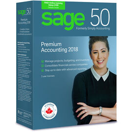 Sage 50 Premium Accounting: Canadian Edition - 2018 - CPRM2018RT