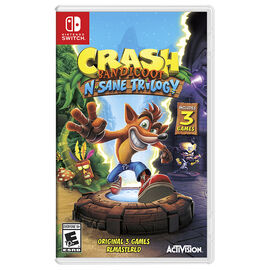 PRE ORDER: Nintendo Switch Crash Bandicoot N. Sane Trilogy