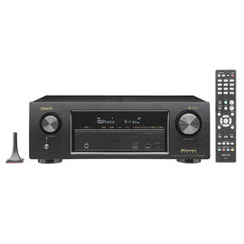 Denon 7.2-ch Receiver with HEOS - Black - AVRX1400H