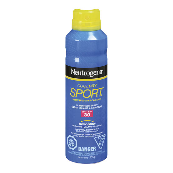 Neutrogena CoolDry Sport Sunscreen Spray - SPF30 - 155g
