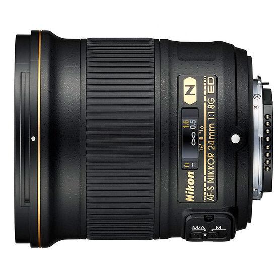 Nikon AF-sS FX 24mm F1.8G Lens - Black - 20057