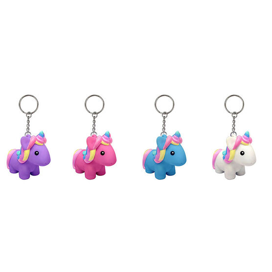Poo Poo Unicorn Keychains - Assorted