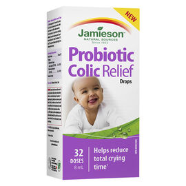 Jamieson Probiotic Colic Relief Drops - 8ml