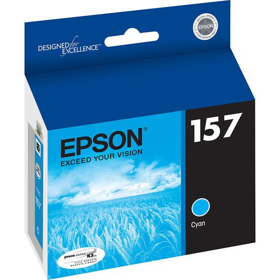 Epson 157 Ink Cartridge - Cyan - T157220