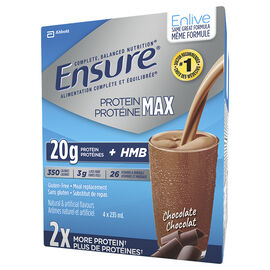 Ensure Enlive Meal Replacement - Chocolate - 4 x 235ml