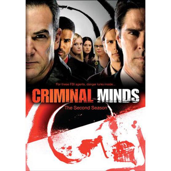 Criminal Minds: The Second Season - DVD