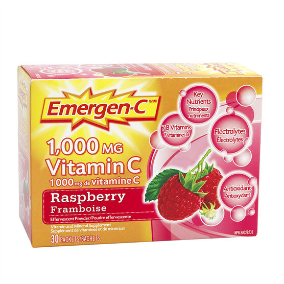 Emergen-C - Raspberry - 30's