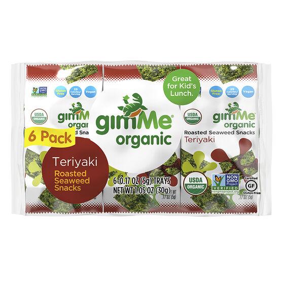 Gimme Seaweed Snack - Teriyaki - 6x5g