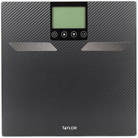 Taylor Body Fat Bath Scale - Carbon Fiber - 55904103FEF