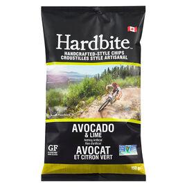 Hardbite Chips - Avocado & Lime - 150g