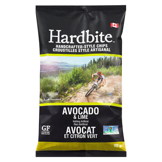 Hardbite Chips - Avocado & Lime - 150g
